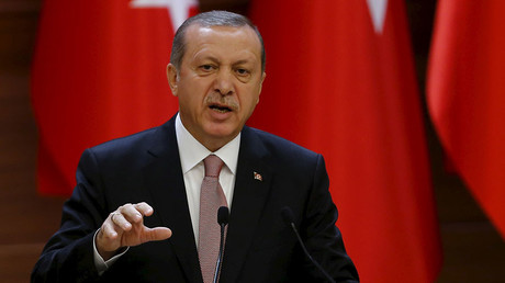 Turkish President Tayyip Erdogan. © Umit Bektas