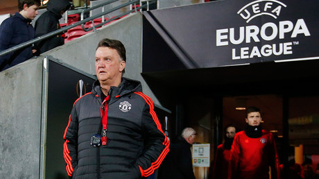 Manchester United's Manager Louis Van Gaal © Paul Childs