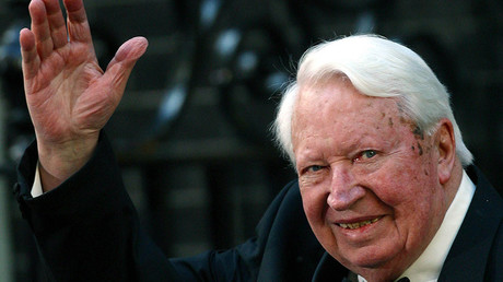 Former British Prime Minister Edward Heath © Str
