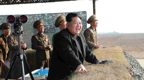 North Korean leader Kim Jong Un. © Reuters