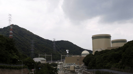Kansai Electric Power Co.'s Takahama nuclear power plant. © Issei Kato