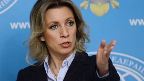 Russian Foreign Ministry Spokesperson Maria Zakharova © Maksim Blinov