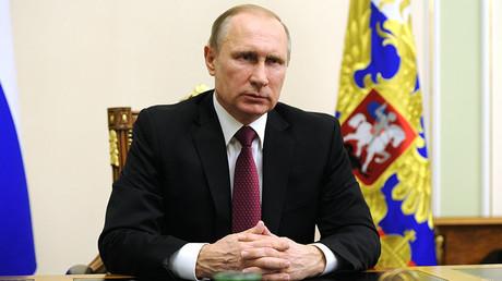 President of Russia Vladimir Putin. ©Michael Klimentyev