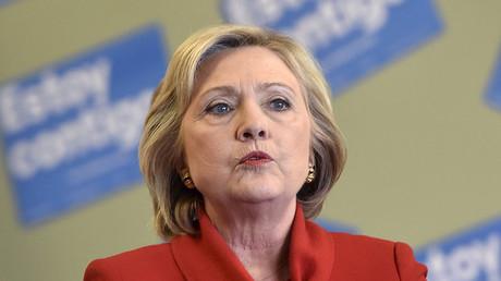 Democratic presidential candidate Hillary Clinton. © David Becker