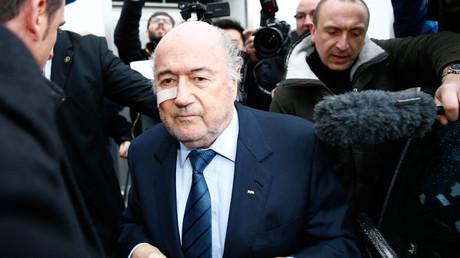 Sepp Blatter © Arnd Wiegmann