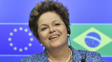 Brazilian President Dilma Rousseff © Georges Gobet