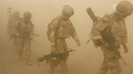 British soldiers in Malgir, Helmand province, Afghanistan © Omar Sobhani