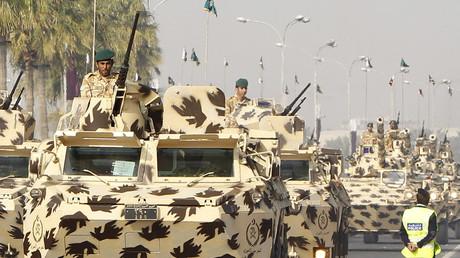 Qatar's army © Suhaib Salem