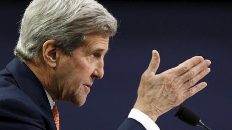 U.S. Secretary of State John Kerry © Gary Cameron