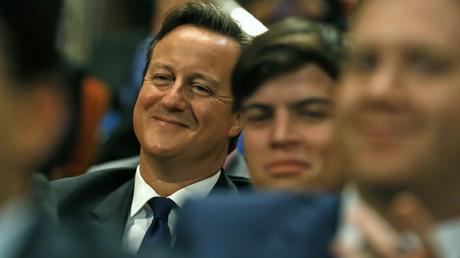 Britain's Prime Minister David Cameron © Luke MacGregor