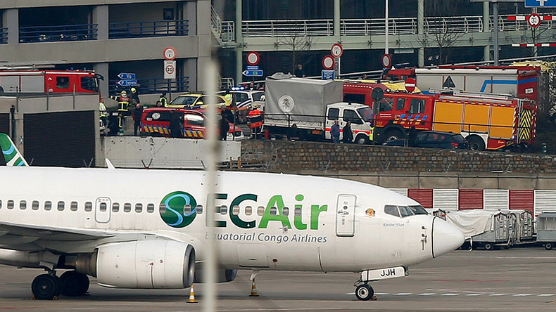 Brussels airport bombing rt news for Interior zaventem