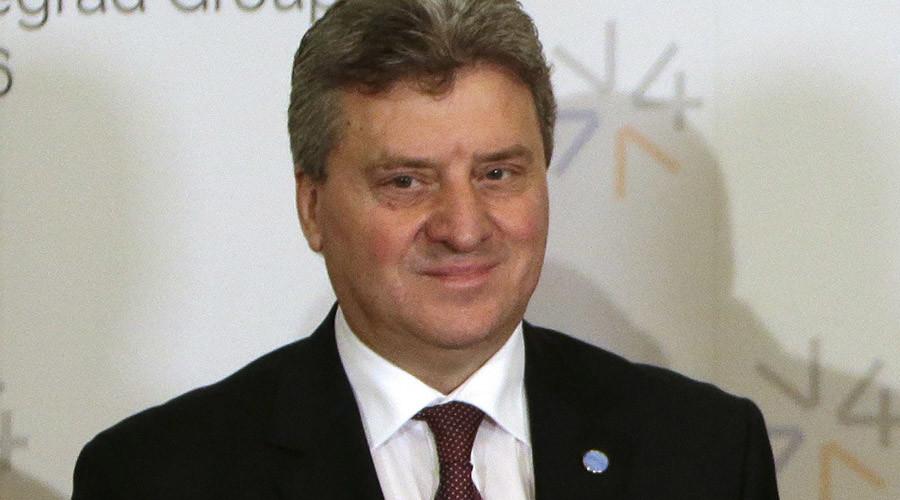 Macedonian President Gjorge Ivanov © David W Cerny