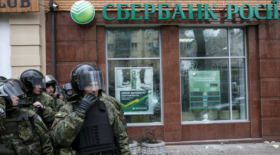 Communist lawmaker asks Putin to remove Russian state owned banks from Ukraine