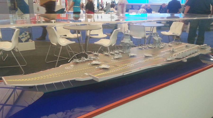 Russian 'Storm' top candidate to be India's new aircraft carrier - report