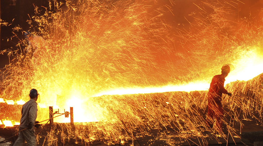 Dongbei Special Steel Group Co. Ltd. in Dalian, Liaoning province © China Daily