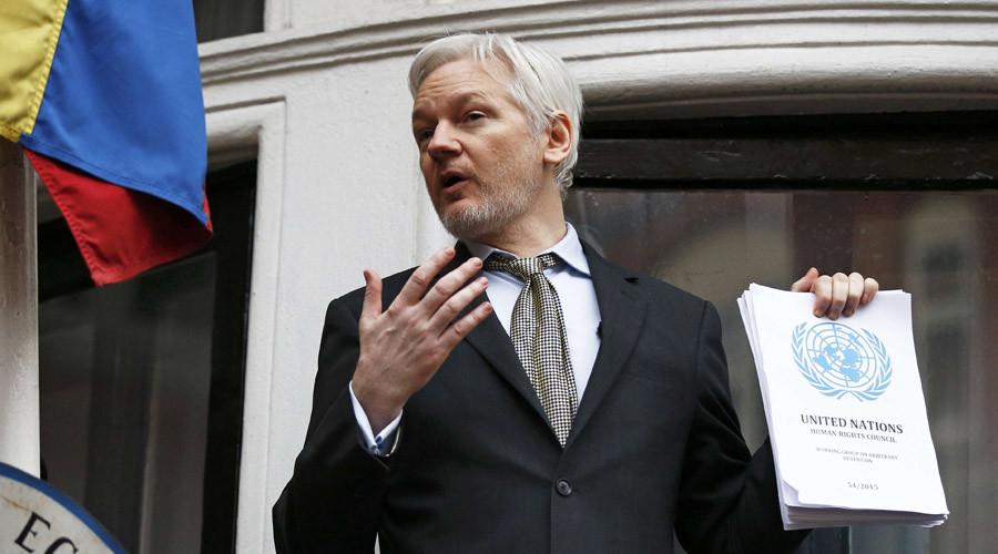 UK & Sweden 'undermining UN' over Assange detention – letter
