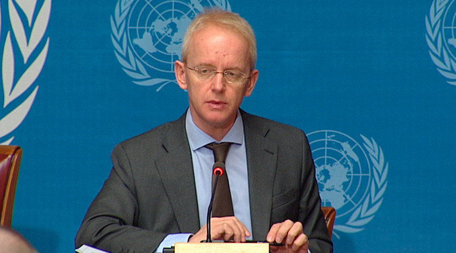 UNHCR spokesman Adrian Edwards © UN multimedia