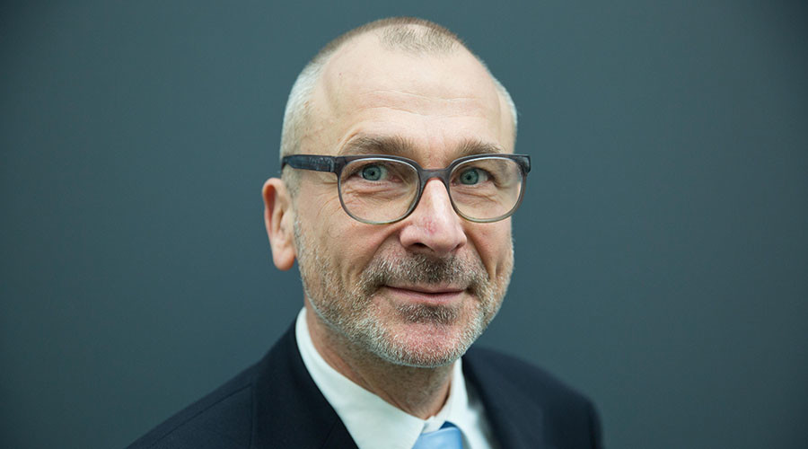 German member of Parliament of Green Party Buendnis 90/Die Gruenen, Volker Beck. ©Jörg Carstensen / DPA