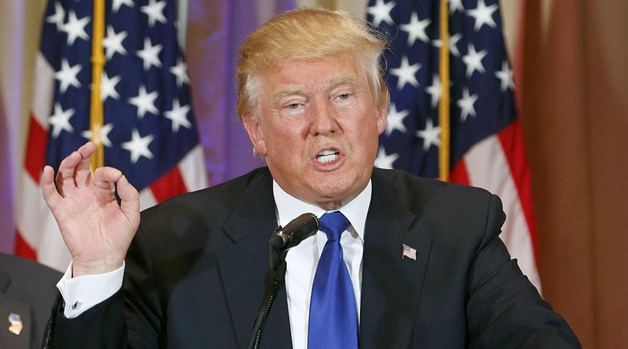 Republican U.S. presidential candidate Donald Trump. ©