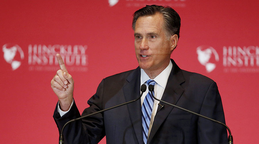 'All we get is a lousy hat': Mitt Romney blasts Donald Trump's career & candidacy