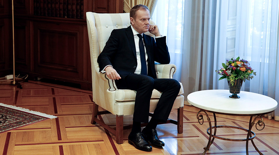 'Don't risk for nothing': Donald Tusk discourages economic migrants from heading for EU