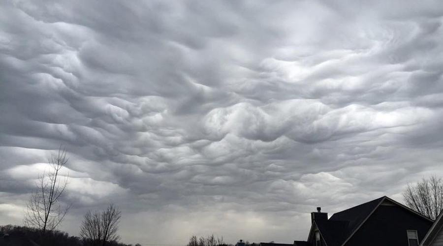 Bizarre 'wavy' clouds create stunning Alabama skies (PHOTOS, VIDEO)