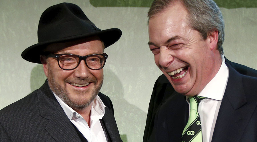 'Grassroots Out!' Galloway & Farage team up for massive Brexit campaign day of action