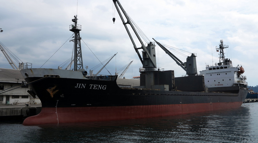Philippines says it seized 'N. Korean cargo ship' in line with UN sanctions