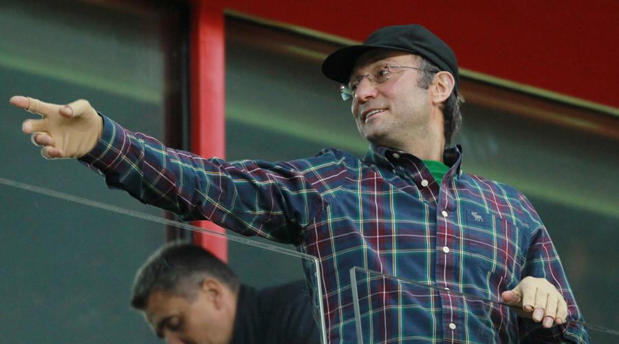 Suleiman Kerimov, owner of Anzhi Makhachkala football club © Vitaliy Belousov