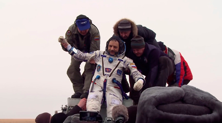 'Mars landing' after year on ISS: Russian cosmonaut's suitability for interplanetary flights tested