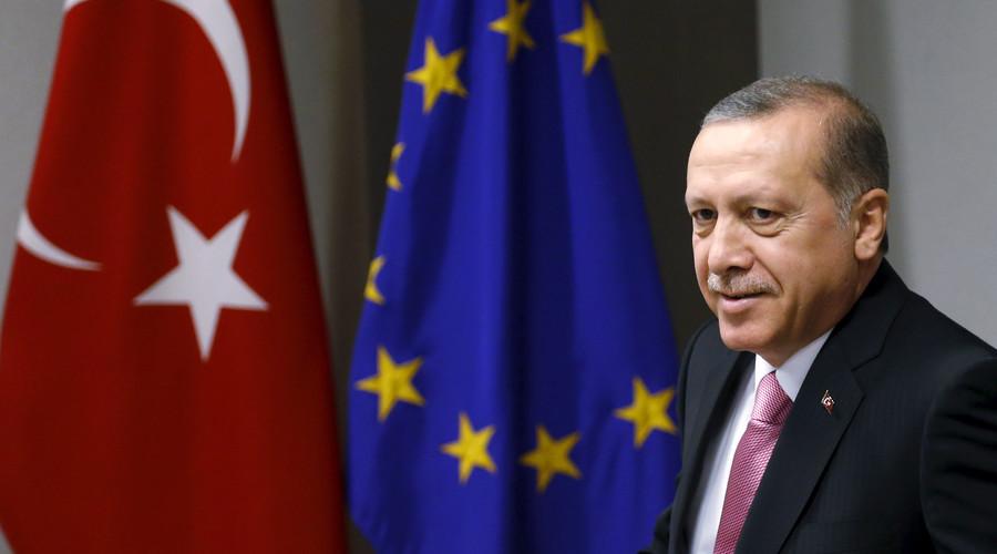 Turkey's President Tayyip Erdogan. © Francois Lenoir