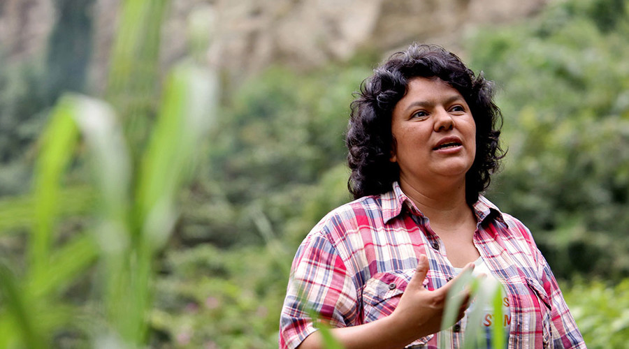 'Stop the witch-hunt!' Justice demanded for murdered Honduran activist Berta Cáceres