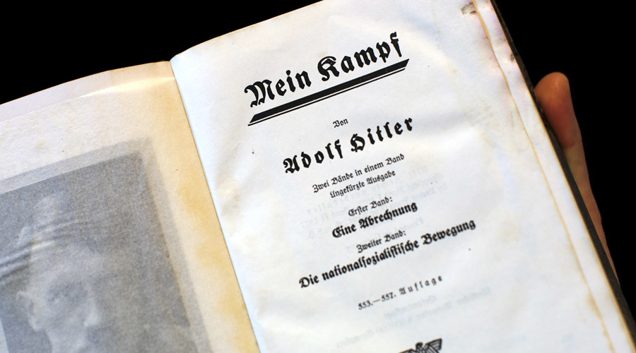 Hitler's personal copy of Mein Kampf to be auctioned in Maryland