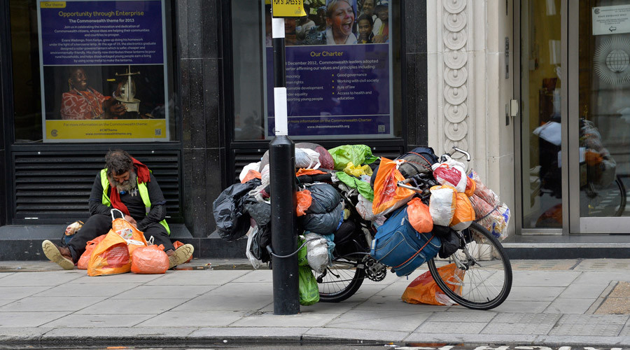 Homeless 'choose to sleep rough' comment by Tory peer provokes outrage