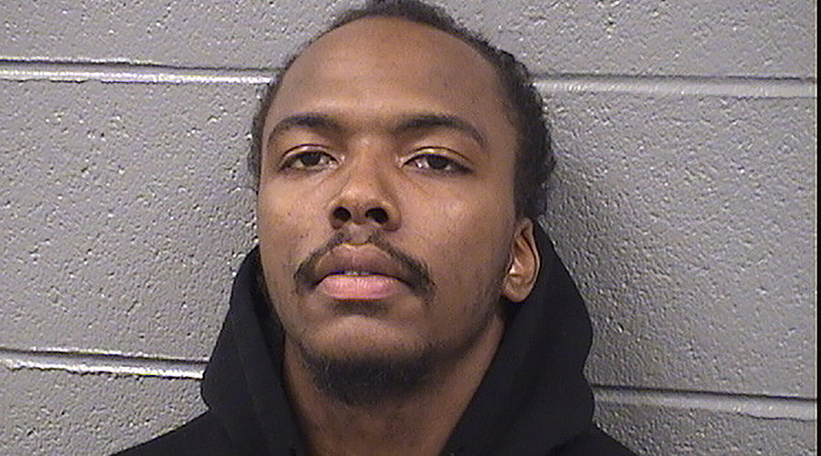 Dwright Boone-Doty is seen in a booking photo from the Cook County Jail, in Illinois, taken in November, 2015. © Cook County Jail