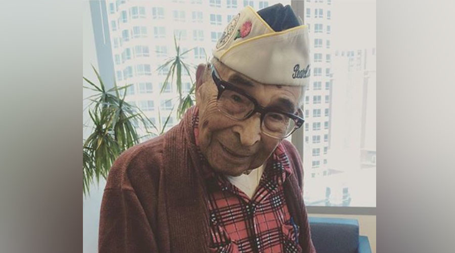Invade this: Oldest Pearl Harbor veteran pumping iron at 104
