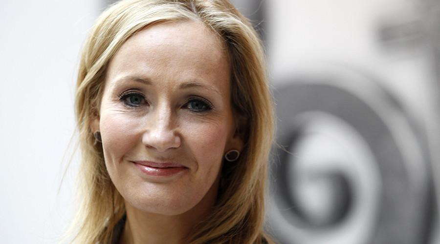 British writer JK Rowling © Suzanne Plunkett