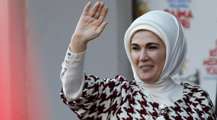 Emine Erdogan. © Reuters