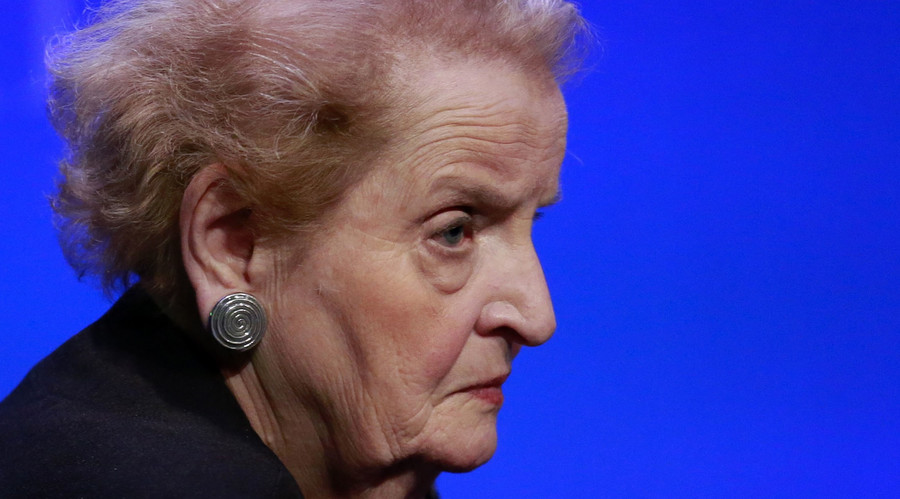 Madeleine K. Albright, former U.S. Secretary of State and chair of the Albright Stonebridge Group. © Andrew Burton