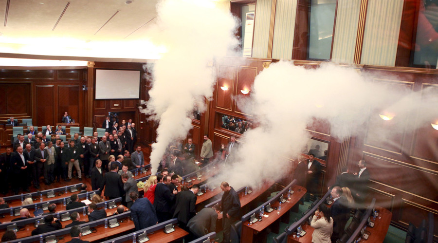Kosovo govt to buy body scanner to stop MPs smuggling tear gas into parliament