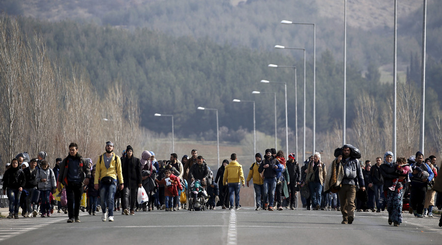 Macedonia slams EU for 'failing security' in unprecedented refugee crisis