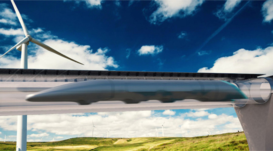 © Hyperloop Transportation Technologies