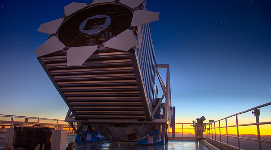 The Sloan Digital Sky Survey telescope. © its.caltech.edu