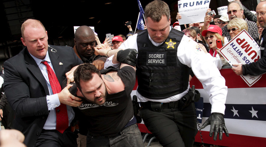 Trump militia? Twitter group vows to protect Donald's supporters following clashes & stage attack