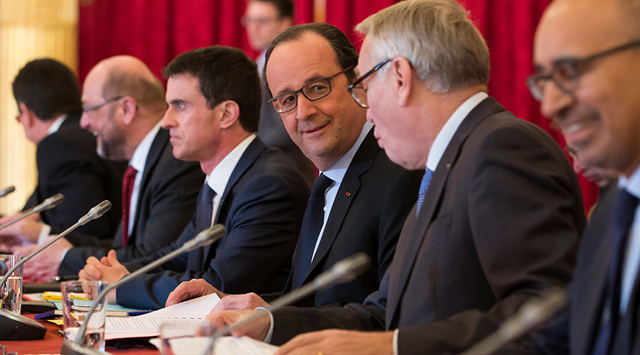 'French government is actually neoconservative pretending to fear rise of far-right'
