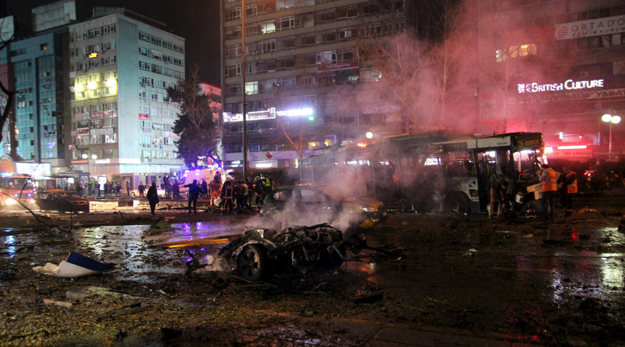 Car bombing rocks Turkish capital Ankara, 34 dead, 125 injured