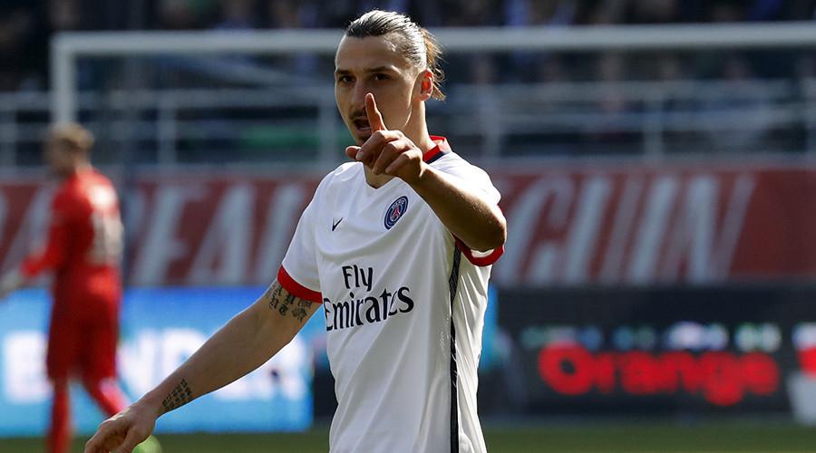 Paris St Germain's Zlatan Ibrahimovic © Philippe Wojazer