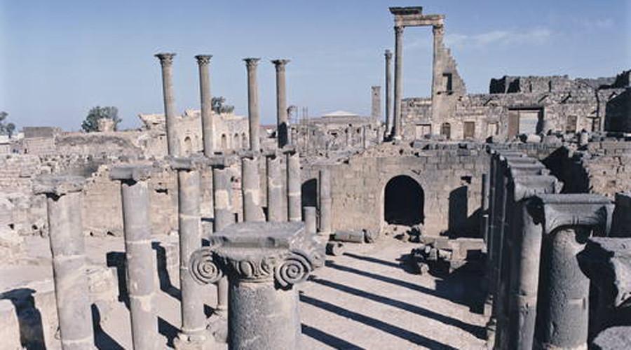 Ancient City of Bosra (Syrian Arab Republic) © Yvon Fruneau / UNESCO