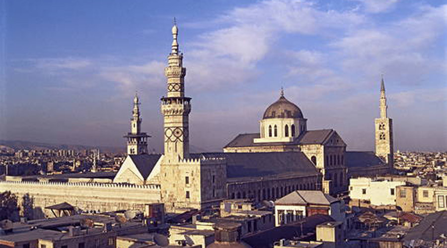 Great Mosque of the Umayyads © Sacred Sites / UNESCO