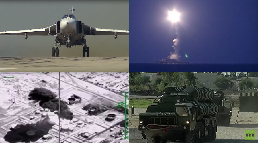 War on ISIS: Russia's Syria anti-terror op in 10 intense videos